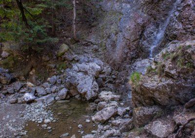Prosiecka Dolina Fotka Vodopád