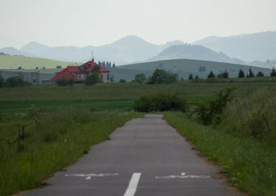 Cyklotrasa Trstená - Nowy Targ 06